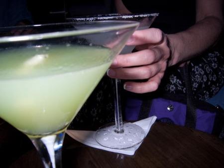 Hpnotiq Martini & Lemon Drop